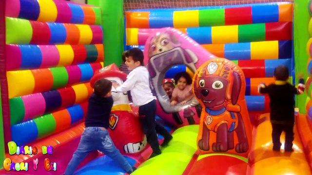La Patrulla Canina en el Parque Infantil de Bolas - Zona de Recreo Para Niños y Juegos Divertidos