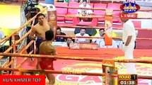 Yuk Yeakple vs Khumphet(thai), Khmer Boxing Seatv 09 Dec 2017, Kun Khmer vs Muay Thai