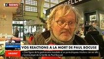 """Disparition de Paul Bocuse : L'émotion des Français en apprenant la disparition de """"Mr Paul"""""""