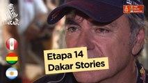 Revista - Carlos Sainz - Etapa 14 (Córdoba / Córdoba) - Dakar 2018