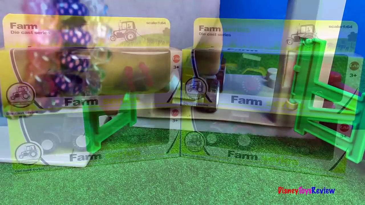 UNBOXING FARM WORLD FARM SERIES TRACTORS – FUN AT THE FARM WITH ECOIFFER ABRICK BUILDING BLOCKS