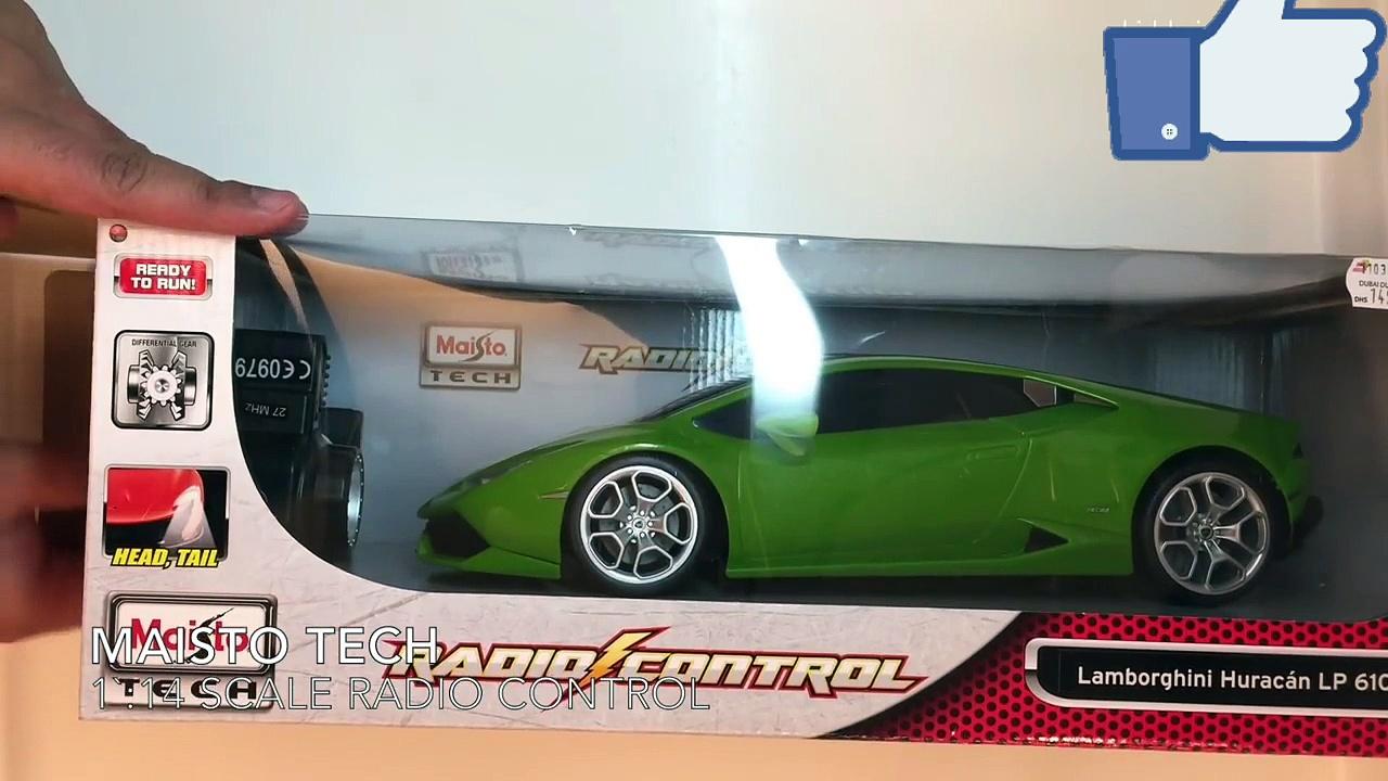 Lamborghini toy car review