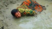 Regardez comment on peche le poisson le plus prisé d'Inde... Technique incroyable