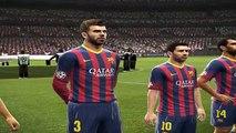 PES new UEFA Champions League FINAL FC Barcelona vs Real Madrid C.F.