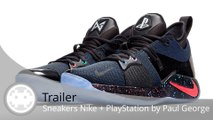 Trailer - Sneakers Nike + PlayStation - Des baskets originales aux couleurs de la console de Sony !