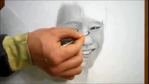 연필드로잉 - 인물(워너원 강다니엘)그리기