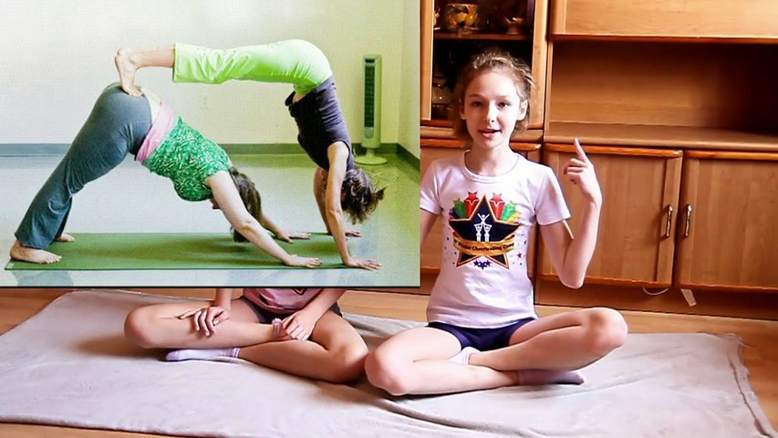 Yoga challenge ! sport girls