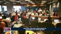 Palasyo, walang kinalaman sa subpoena vs. Rappler CEO