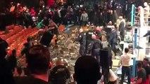 La réunion de boxe à Levallois se termine en bagarre générale !