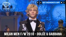 Dolce & Gabbana Milan Menswear Fashion Week Mens Fall/Winter 2018 Collection | FashionTV | FTV