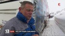 Alpes : très fort risque d'avalanches