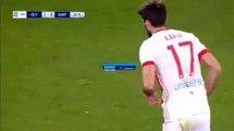 1-0 Το γκολ του Καρίμ Ανσαριφάρντ - Ολυμπιακός vs Ξάνθη - 21.01.2018