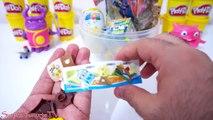 Dev Yumurta DORAEMON Dev Sürpriz Yumurta Açma - Play Doh Oyun Hamuru Oyuncak Yumurtalar #19