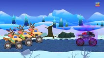 Haunted House Monster Truck - Haunted House Monster Truck VS. Santa | Episode 10 | Christmas Special