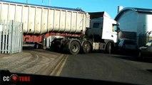 Amazing Trucks Driving Skills - Awesome Semi Trucks Drivers - Extreme Lorry Drivers WIN