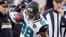 Allen Hurns turns Patrick Chung around with great route for 27-yard pickup