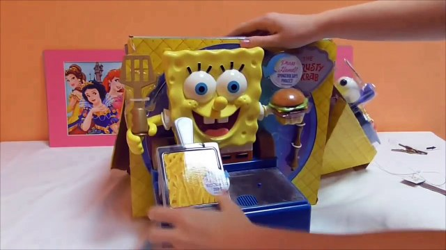 Little Kelly - Toys & Play Doh  - Spongebob Krabby Patty Maker ( Bikini Bottom, Patric