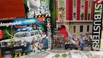 PLAYMOBIL Ghostbusters New Collection 2017 Ghostbusters Station Ghostbusters Cars Marshmalow Man