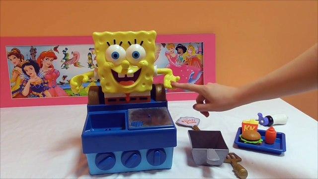 Little Kelly - Toys & Play Doh  - Spongebob Krabby Patty Maker ( Bikini Bottom, Patrick,