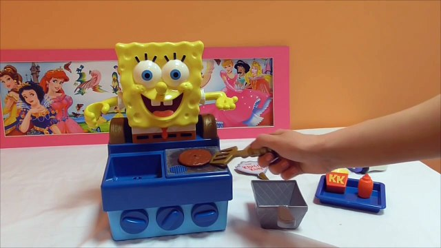 Little Kelly - Toys & Play Doh  - Spongebob Krabby Patty Maker ( Bikini Bottom,