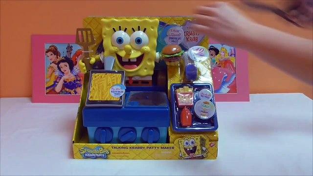 Little Kelly - Toys & Play Doh  - Spongebob Krabby Patty Maker ( Bikini Bottom, Pa