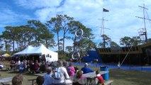 Brevard Renaissance Fair 2018 - The Pirate High Wire Show
