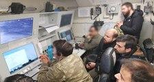 Bilal Erdoğan, Afrin'de Görev Alan İHA'ların Kontrol Merkezini Ziyaret Etti