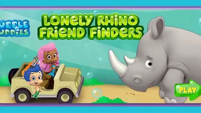 BUBBLE GUPPIES LONELY RHINO FRIEND FINDERS FULL EPISODE