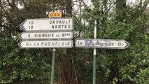 Notre-Dame-Des-landes. Opération nettoyage de la RD281