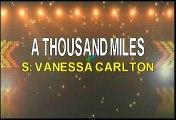 Vanessa Carlton A Thousand Miles Karaoke Version