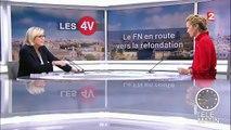 """Pour Marine Le Pen, Florian Philippot doit """"vivre sa vie"""" : """"Il ne fait que parler de nous, rêver de nous, penser à nous"""