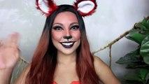 Foxy Lady Makeup (Halloween