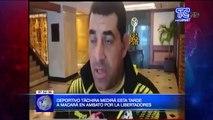 Deportivo Táchira medirá esta tarde a Macara en Ambato por la libertadores