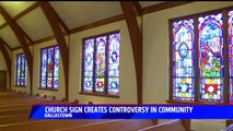 'Sh--tholes' Church Sign Sparks Controversy in Pennsylvania Town