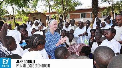 Docteur Jane Goodall, primatologue et fondatrice du Jane Goodall Institute