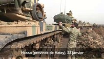 Turquie: des soldats turcs en route vers la frontière syrienne