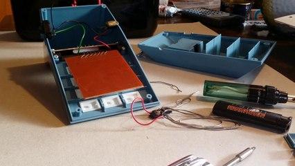 Repairing an old electronic game MB Logic 5