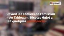 Nicolas Hulot explique qu'il n'est «pas si écolo que ça»
