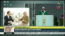 teleSUR Noticias: Papa Francisco visita oficial a Perú 2018