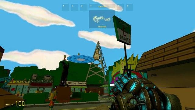 Garry's Mod | THE SIMPSONS HIDE AND SEEK | Gmod Simpsons Mini-Game (Bart Simpson)