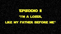 "STAR LOSERS - Ep II - ""I'm a Loser, like my Father before me"" - Luke Skywalker"