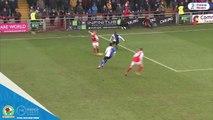 David Raya (Blackburn Rovers) incredible save vs. Fleetwood Town
