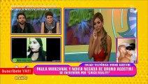 Chico reality le calla la boca feo a su novia negada por Paula Manzanal