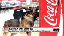 PyeongChang Counter-Terrorism & Safety Center holds security sweep to ensure safety in Olympic venues