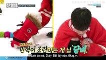 [KKVN][VIETSUB] 180103 Weekly Idol Ep 336 [Eng Sub] - EXID x Monsta X x Seventeen x Chung Ha~1