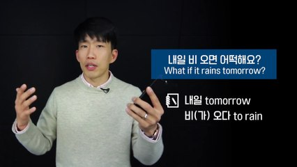 """Korean Q&A - How to say """"WHAT IF"""" in Korean"""
