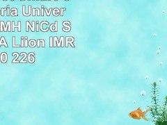 SOAIY 2 Slot Smart Caricabatteria Universale per NiMH NiCd S