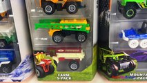 MATCHBOX ON A MISSION MBX - DESERT ICE MOUNTAIN FARM HOT WHEELS ULTIMATE GARAGE & TRUCKS - UNBOXING