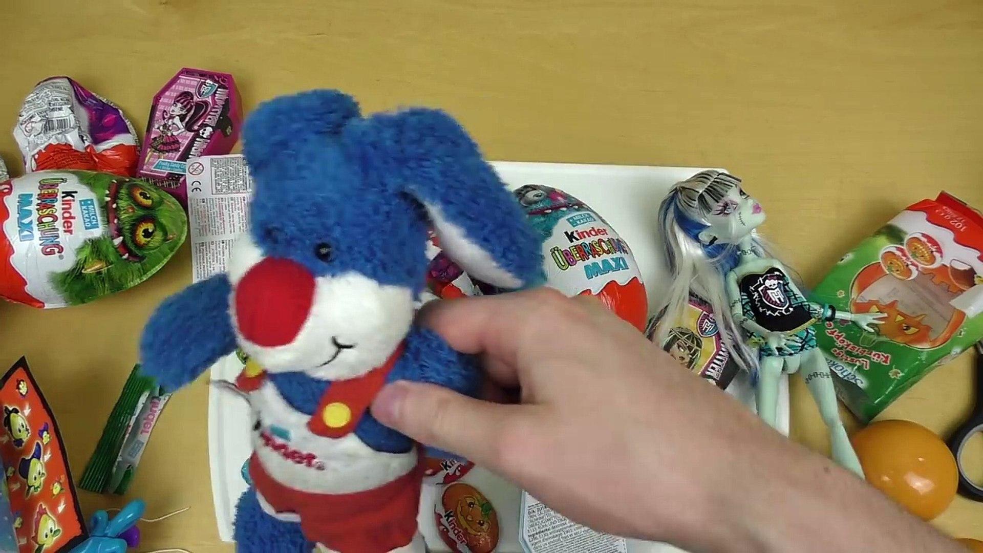 Kinder Surprise MAXI HALLOWEEN Monster High Candy Coffins