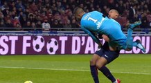 Lyon vs PSG Incroyable blessure de Kylian Mbappe choc vs Anthony Lopes (Amazing injury) KO de Mbappé